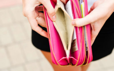 Die 4 wichtigsten Ursachen für Geldmangel