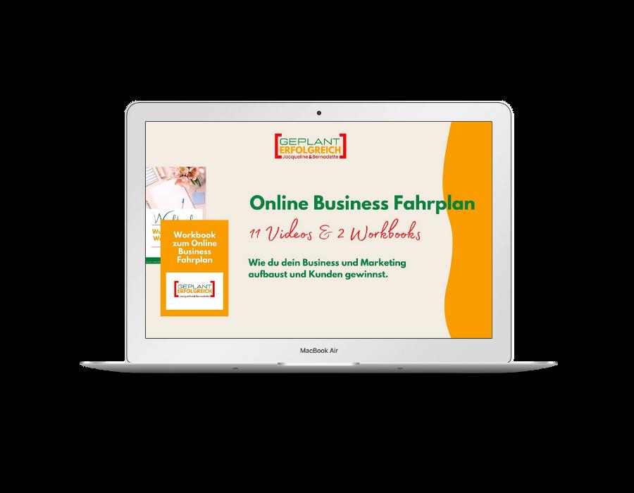Online Business Fahrplan Jacqueline Bürker